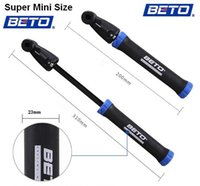 air suspension pump - Super mini size the Lightest BETO Portable Kettle clip Cycling Bicycle Bike Super mini Suspension Pump Tire Inflator Air Pump pumps warranty