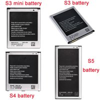 Wholesale High Quality Battery for Samsung Galaxy S3 S4 S5 S3 mni Replacement Mobile Phone Bateria Akku
