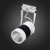 Wholesale Track Light LED Track Shoot The Light Guide Light With The Lamp Clothing Store to Shoot The Light W COB Light Face is White