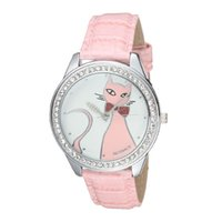 actimer watches - Actimer love time off brand cat honorable fashion personality female form diamond quartz watch genuine