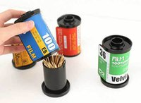 Wholesale Creative Film Modeling Household Toothpick Box Holder Container