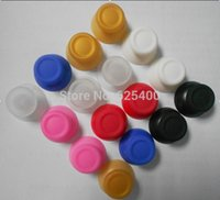 Wholesale 200pcs Colorful D Analog Thumbstick Rocker Joystick Cap Caps Cover for PS4 Game Controller button FAST SHIPPING
