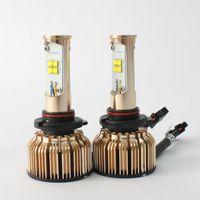 Wholesale New W LM HB3 Cree LED Headlight Kit Car Driving Lamp Bulbs White K Car Light Source