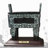 area business - Bronze Simuwu Fangding antique crafts business gifts to send foreigners Features arts and crafts area
