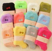 fleece socks - Super sale Winter warm Women Thick fleece Socks Super warm thermal socks soft pairs