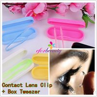 Wholesale Contact Lens Clip Box rs Pinchers Good Quality Hot Sale Easy To Carry sets