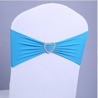 Wholesale colors love heart bow elastic wedding chair cover wedding props party chair covers