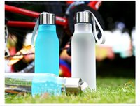 beautiful riding - Lovers ml environmental Tour Portable camping hiking riding swimming cycling sports young style beautiful water Bottle
