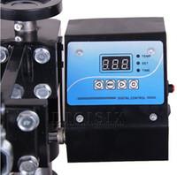 Wholesale new design V v mug plate t shirt cap heat press machine digital control box temperature control