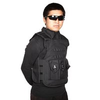 military equipment - SWAT Airsoft CS Paintball Men Nylon Military Tactical Vest Hunting Combat Assault Vest Outdoor Training Waistcoat Equipment Y0614