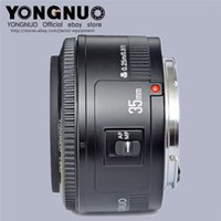 auto aperture - Yongnuo mm lens YN35mm F2 lens Wide angle Large Aperture Fixed Auto Focus Lens For canon EF Mount EOS Cameras With Retail Packaging