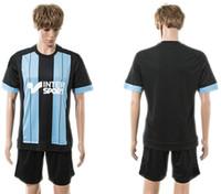 athletic shorts for men - 15 Marseille away black soccer uniforms for men player s brand new short sleeve soccer sets athletic sport kit outdoor football tracksuit
