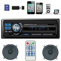 Wholesale Car Audio Stereo In Dash Fm Receiver Mp3 Player USB SD Input AUX With Original Packing Jecksion