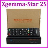 digital satellite receiver hd - 1pc Zgemma Star S Twin DVB S2 linux OS Digital Satellite Receiver Zgemma star S Support IPTV streaming server box