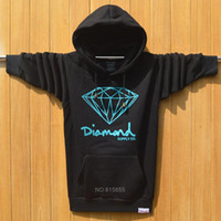 diamond supply co - Winter Men s Diamond Supply Co Element Hoodies Men Hip Hop Sweatshirts Man Fleece Hoody Pullover Sportswear Clothing ding