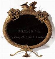 Wholesale All copper between vanity mirror jewelry crafts home Villa club model luxury high grade mirror mirror