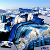age comforters - Best Quality D Bedclothes Bedding Sets King Queen PC Comforter Cover PC Bed sheet Pillow Covers Ice Age