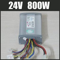Cheap 24V 800W motor brushed controller Electric Bike Vehicle Bicycle Scooter E-Bike DC motor modified parts speed controller
