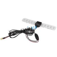 Precio de Car antenna amplifier-1pcs nuevo y alta calidad móvil del coche TV digital DVB-T 12V Antena Amplificador conector SMA Plug