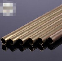 Wholesale brass tube steel pipe aircraft model drive shaft metal tube x5 x300mm