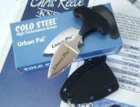 Wholesale 5PCS Cold steel URBAN PAL LS small Fixed blade knife Fox karambit pocket knife tactical knife hunting knife survival knife camping knives