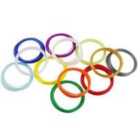 Wholesale 20 colors d printer filament ABS mm kg plastic Rubber Material