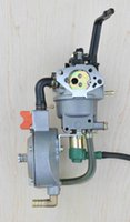 Wholesale LPG generator conversion kit propane carburetor KW W F dual fuel with manual choke