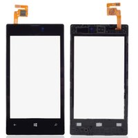 Wholesale Popular Cellphone Glass Digitizer Frame Black Touch Screen Digitizer For Nokia Lumia Mobile Phone Touch Panel B0290