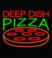 air dish - Deep Dish Pizza Neon Sign Avize Neon Nikke Air Jorddan Neon Sign Real Glass Tube Handicraft Beer Bar Sign Display