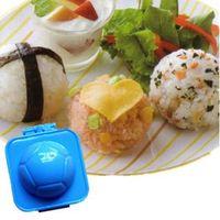Wholesale Onigiri Sushi Mold Home DIY Bento E gg Rice Maker Outdoor Picnic Supplies Kitchen Cutter Accessory