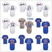 anthony new york - 2015 New New York Mets Jersey White Blue Camo Anthony Recker Jeurys Familia Steven Matz Noah syndergaard
