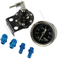 Wholesale A96 On Sale New Adjustable Fuel Pressure Regulator With Oil Gauge Type S With Retail Box