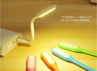 Wholesale USB LED Portable Light Desk Lamp for PC Notebook Laptop Power Charge Bank Travel