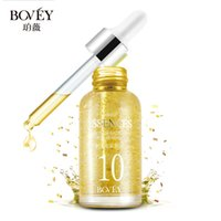 Wholesale 24K Gold leaf Radiance Serum Whitening Brightening Essence Skin Toner Liquid Fade Spots for Yellowish Dull Skin Color ml V5013