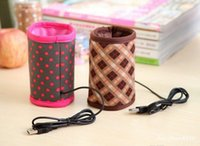 tin drinking cups - Hot Drink Warmer USB Interface Insulation Sleeve Bottle Tin Cup Heating
