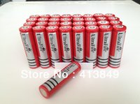 Wholesale Big Discount high capcity pieces ultrafire RED V Rechargeable Battery mAh for LED Flashlight