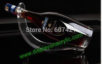 acrylic wine display - Elegant Clear Acrylic Bottle Display Rack Perspex Wine Stands