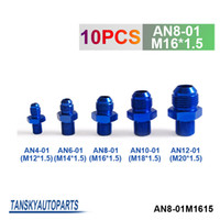 Wholesale Tansky unit Oil cooler fitting BLUE For Universal With No Logo have in stock AN8 M16