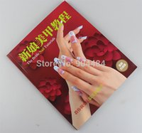 acrylic tutorial - The Bride Nail Tutorials Book Full Colors x21x1cm Size French Color Gel Acrylic Fashion Nails Beauty Reference