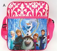 Wholesale New Arrive Frozen pvc mochila backpack Children school bags for teenagers Children inclined shoulder bag