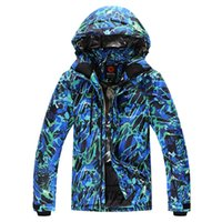 Wholesale ROSSIGNOL winter man ski wear waterproof thicken thermal mens jackets and coats for skiing and snowboarding male warm snow clothes