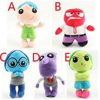 baby fear - Inside Out Plush Toys Fear Pelucia Peluche Doll Toy Brinquedos Juguetes Kids Baby Toys For Children CM HX