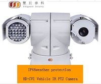 Wholesale FG P megapixel HD CVI Vehicle IR PTZ Camera RS485 control IP66 weather protection