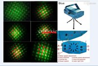 Wholesale Christmas in Mini Disco Party Lights Projector Laser Star Stage DJ Lighting X78