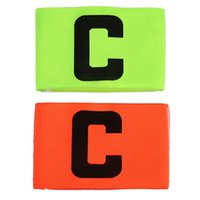 Wholesale New Arrival Fashion Soccer Gear Adjustable Captain Armband Brand Football Games Player Arm Band
