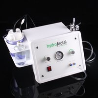 Wholesale 3in1 Microdermabrasion Dermabrasion hydro Peeling Vacuum Spray oxygen Beauty Device for home use