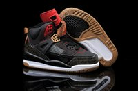 body cream - 13 Colours With Box High Quality Retro Spizike Black Brown Red White Kid s Basketball Sneaker Trainers Shoes