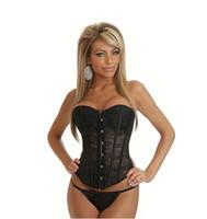 Wholesale Bride invisible underwear lace Strapless Corset waist chest supporting thin gauze gather abdomen corsets