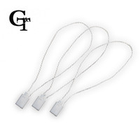 Wholesale White Quality hang tag string in apparel hang tag strings cord for garment Garment string stringing price hangtag or seal tag