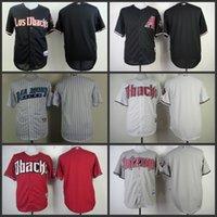 arizona shirts - Hot sale Authentic Cheap blank Arizona Diamondbacks jerseys Baseball Jersey shirt Embroidered Logos Size S XL for sale